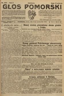 Głos Pomorski. 1925, nr253
