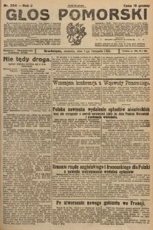 Głos Pomorski. 1925, nr254