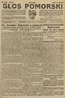 Głos Pomorski. 1925, nr255