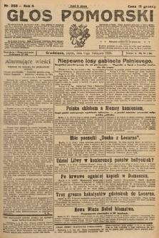 Głos Pomorski. 1925, nr258