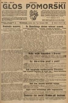 Głos Pomorski. 1925, nr259