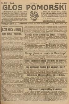 Głos Pomorski. 1925, nr260