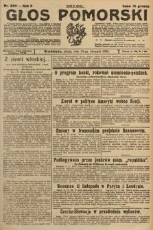 Głos Pomorski. 1925, nr264