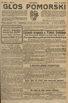 Głos Pomorski. 1925, nr266