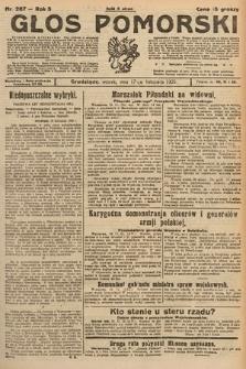 Głos Pomorski. 1925, nr267