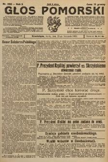 Głos Pomorski. 1925, nr268