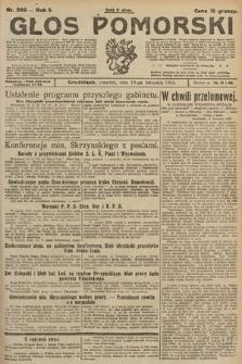 Głos Pomorski. 1925, nr269