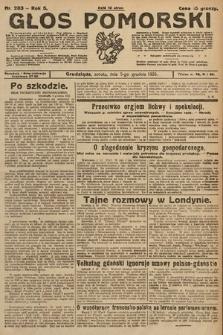Głos Pomorski. 1925, nr283