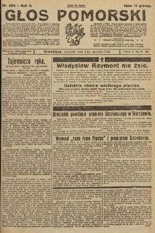 Głos Pomorski. 1925, nr284
