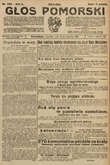 Głos Pomorski. 1925, nr286