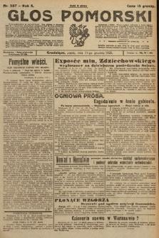 Głos Pomorski. 1925, nr287