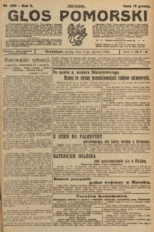 Głos Pomorski. 1925, nr288