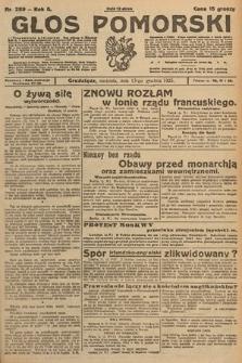 Głos Pomorski. 1925, nr289