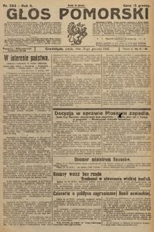 Głos Pomorski. 1925, nr293
