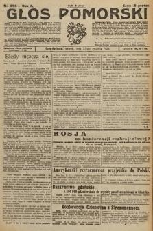 Głos Pomorski. 1925, nr296