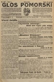 Głos Pomorski. 1925, nr297