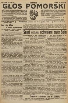 Głos Pomorski. 1925, nr298