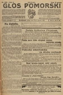 Głos Pomorski. 1925, nr299