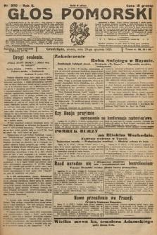 Głos Pomorski. 1925, nr300