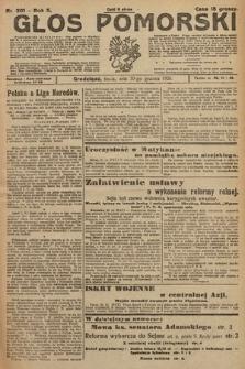 Głos Pomorski. 1925, nr301