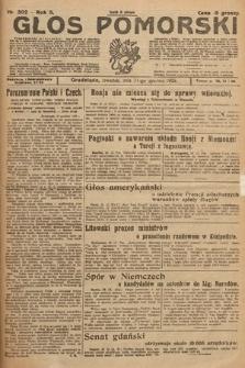 Głos Pomorski. 1925, nr302