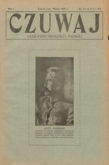 Czuwaj : czasopismo młodzieży polskiej. 1920, nr2-3