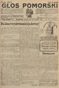 Głos Pomorski. 1925, nr86