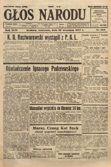 Głos Narodu. 1937, nr262