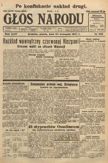 Głos Narodu. 1937, nr263