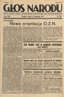 Głos Narodu. 1937, nr325