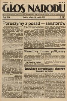 Głos Narodu. 1937, nr347