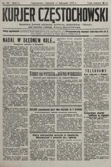 Kurjer Częstochowski : niezależny dziennik polityczny, społeczny, gospodarczy iliteracki. 1932, nr92