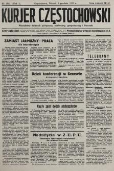 Kurjer Częstochowski : niezależny dziennik polityczny, społeczny, gospodarczy iliteracki. 1932, nr108