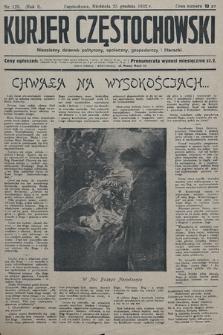 Kurjer Częstochowski : niezależny dziennik polityczny, społeczny, gospodarczy iliteracki. 1932, nr123