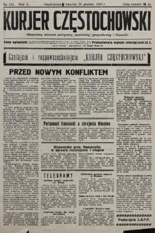 Kurjer Częstochowski : niezależny dziennik polityczny, społeczny, gospodarczy iliteracki. 1932, nr125