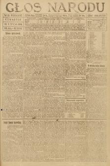 Głos Narodu (wydanie poranne). 1918, nr162