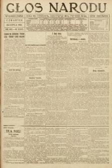 Głos Narodu (wydanie wieczorne). 1918, nr163