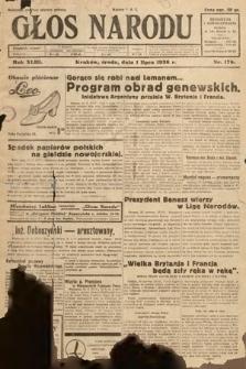 Głos Narodu. 1936, nr178
