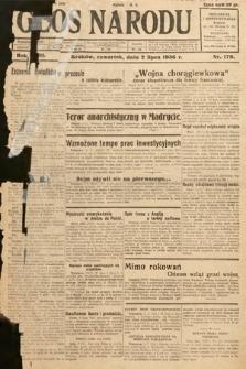Głos Narodu. 1936, nr179