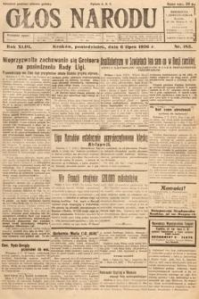 Głos Narodu. 1936, nr183
