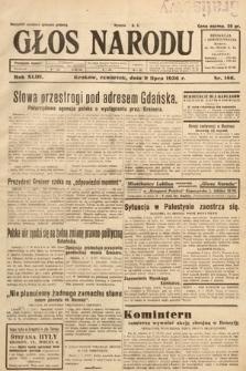 Głos Narodu. 1936, nr186