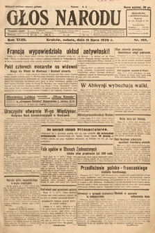 Głos Narodu. 1936, nr188