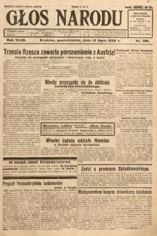 Głos Narodu. 1936, nr190