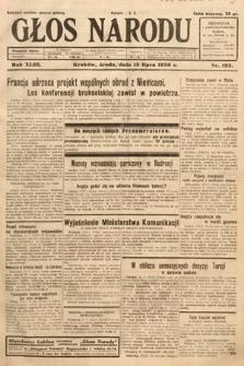 Głos Narodu. 1936, nr192