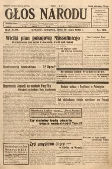 Głos Narodu. 1936, nr193