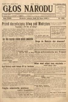 Głos Narodu. 1936, nr202