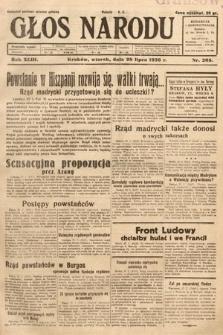 Głos Narodu. 1936, nr205