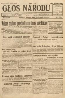 Głos Narodu. 1936, nr212