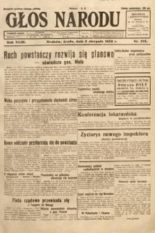 Głos Narodu. 1936, nr213