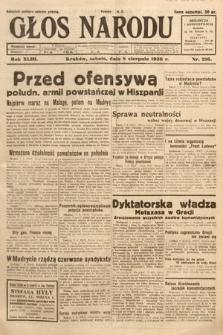 Głos Narodu. 1936, nr216
